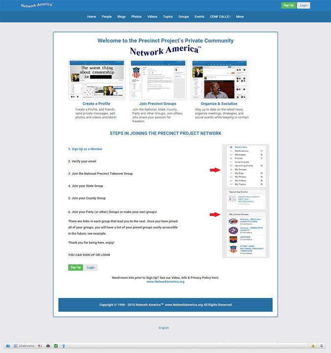 Network America Social Network