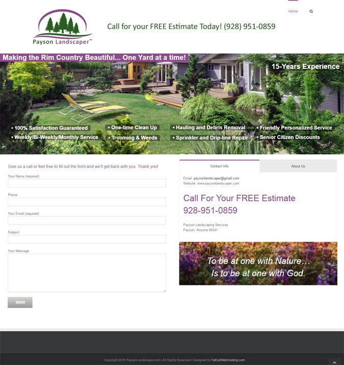 PaysonLandscaper Website 675