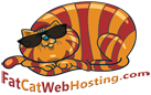 Fat Cat Webhosting™ Logo